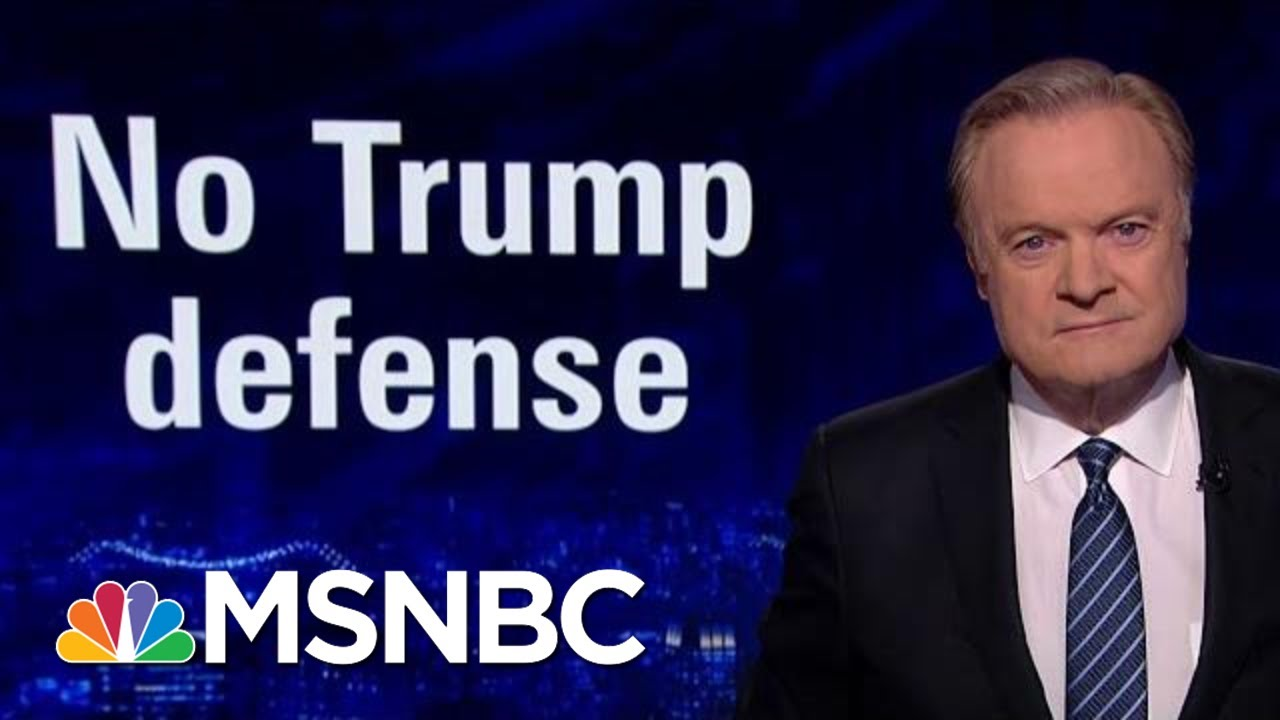 No Defense Of Trump From Republicans In Released Impeachment Depositions | The Last Word | MSNBC 7