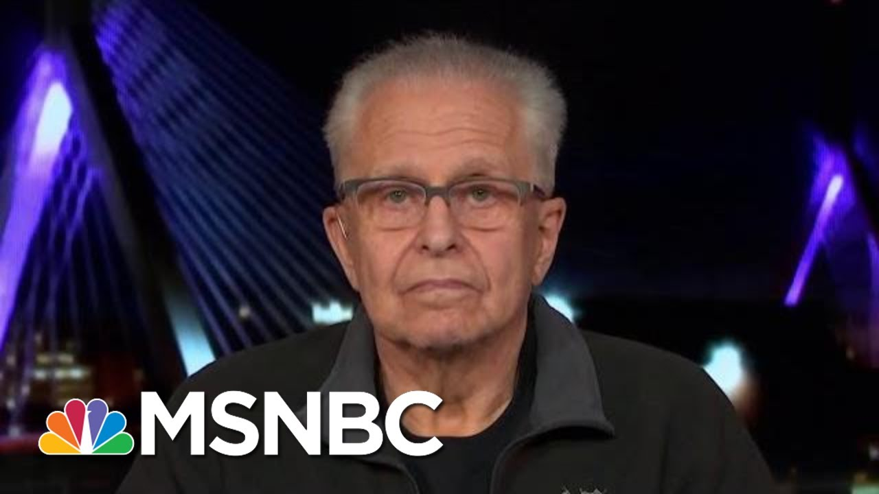 Laurence Tribe: Trump Committed 'High Crimes And Misdemeanors'   The Last Word   MSNBC 7