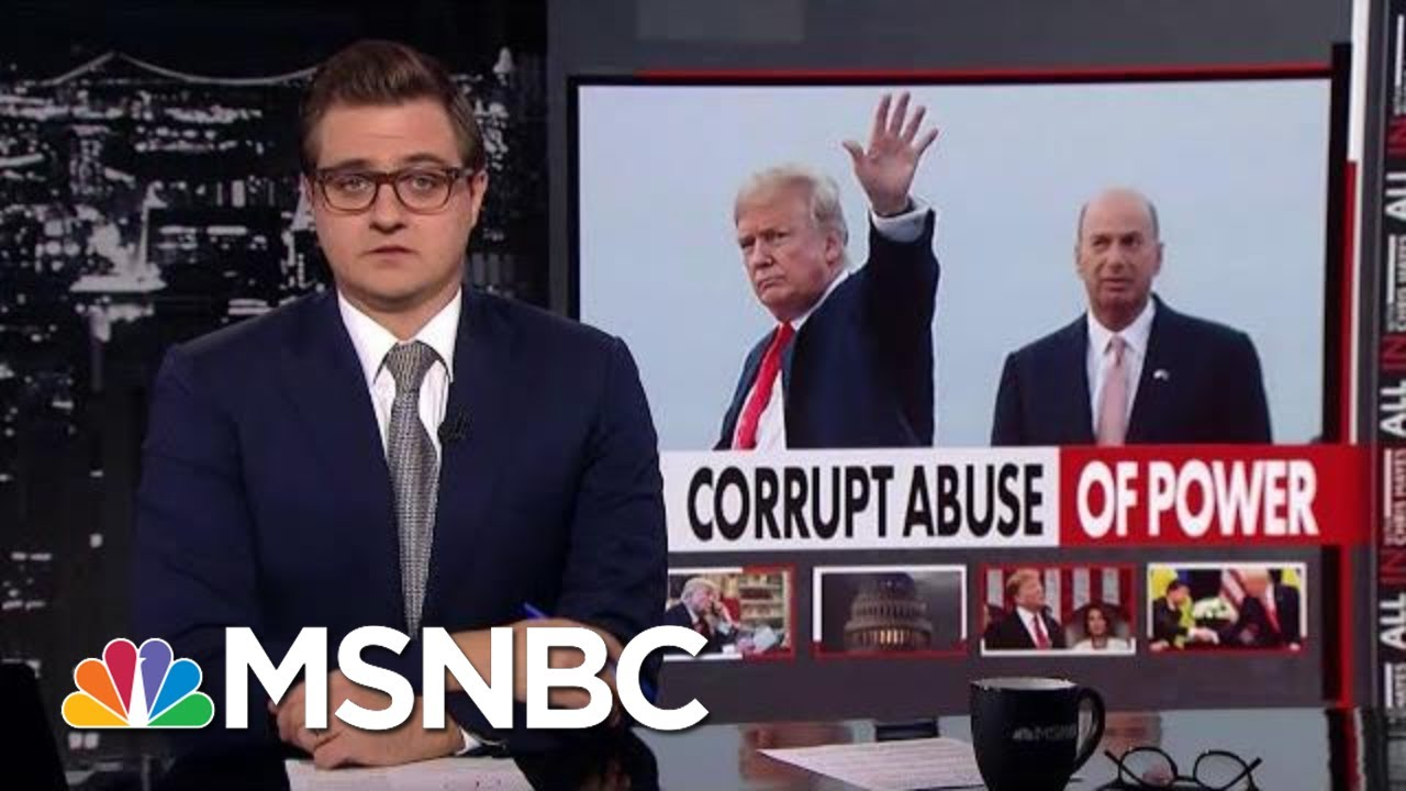 Chris Hayes: Yes, There Was A Quid Pro Quo | All In | MSNBC 6