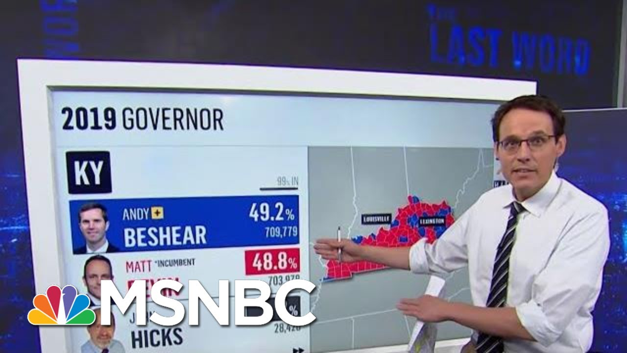 How Dem Beshear Beat Bevin (And Trump) In KY | The Last Word | MSNBC 6