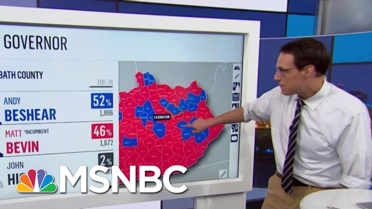 Strong Democratic Showing In Elections Sends Political Shockwaves | Rachel Maddow | MSNBC 7