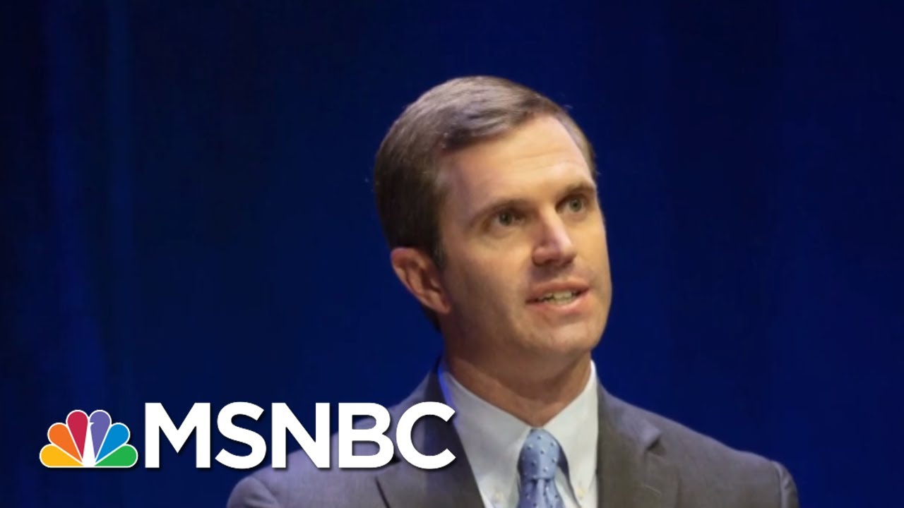 In Stunning Upset, Democrat Beshear Is Apparent Winner In KY Governor Race - Day That Was   MSNBC 7