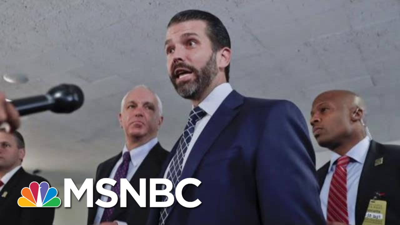 Trump And Allies Amplify Calls For Whistleblower To Be Outed | The 11th Hour | MSNBC 2