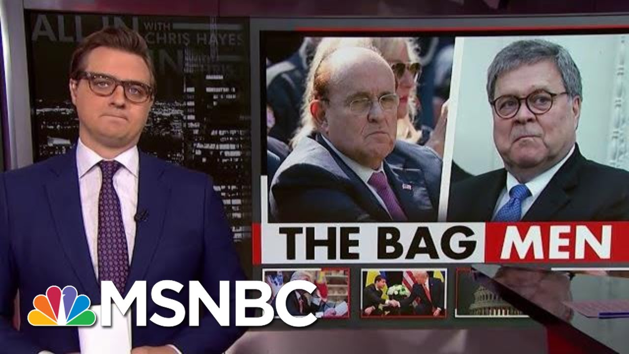 Chris Hayes On Just What Giuliani And Barr Were Willing To Do To Help Trump | All In | MSNBC 12