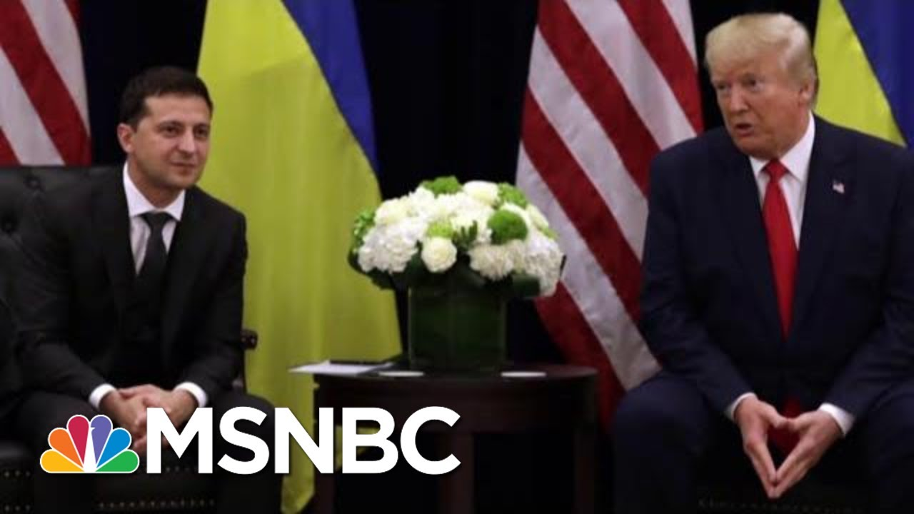 RPT: Ukraine's President Was Prepared To Bow To Trump's Demands | The Last Word | MSNBC 3