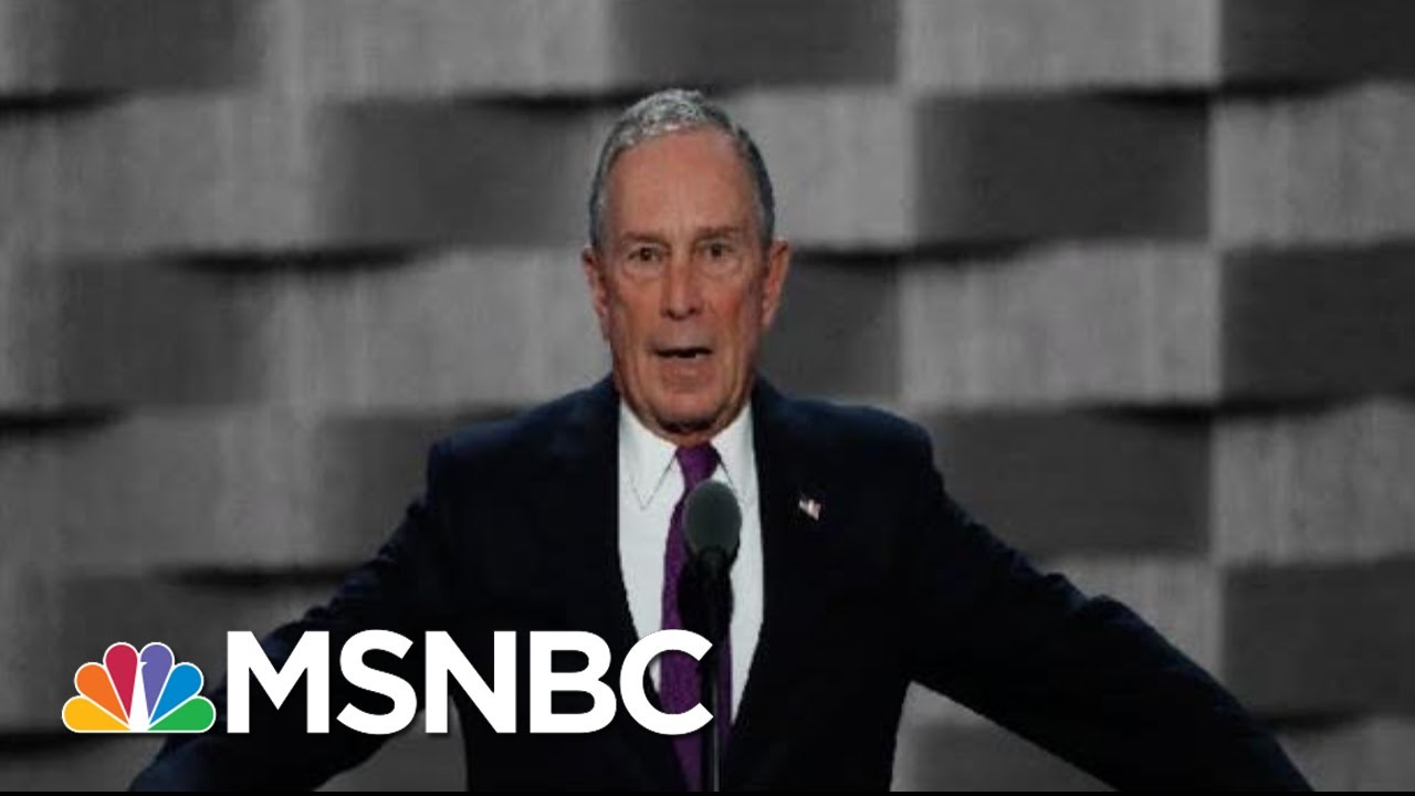 Mike Bloomberg May Be Reconsidering A Run For The White House | The 11th Hour | MSNBC 10