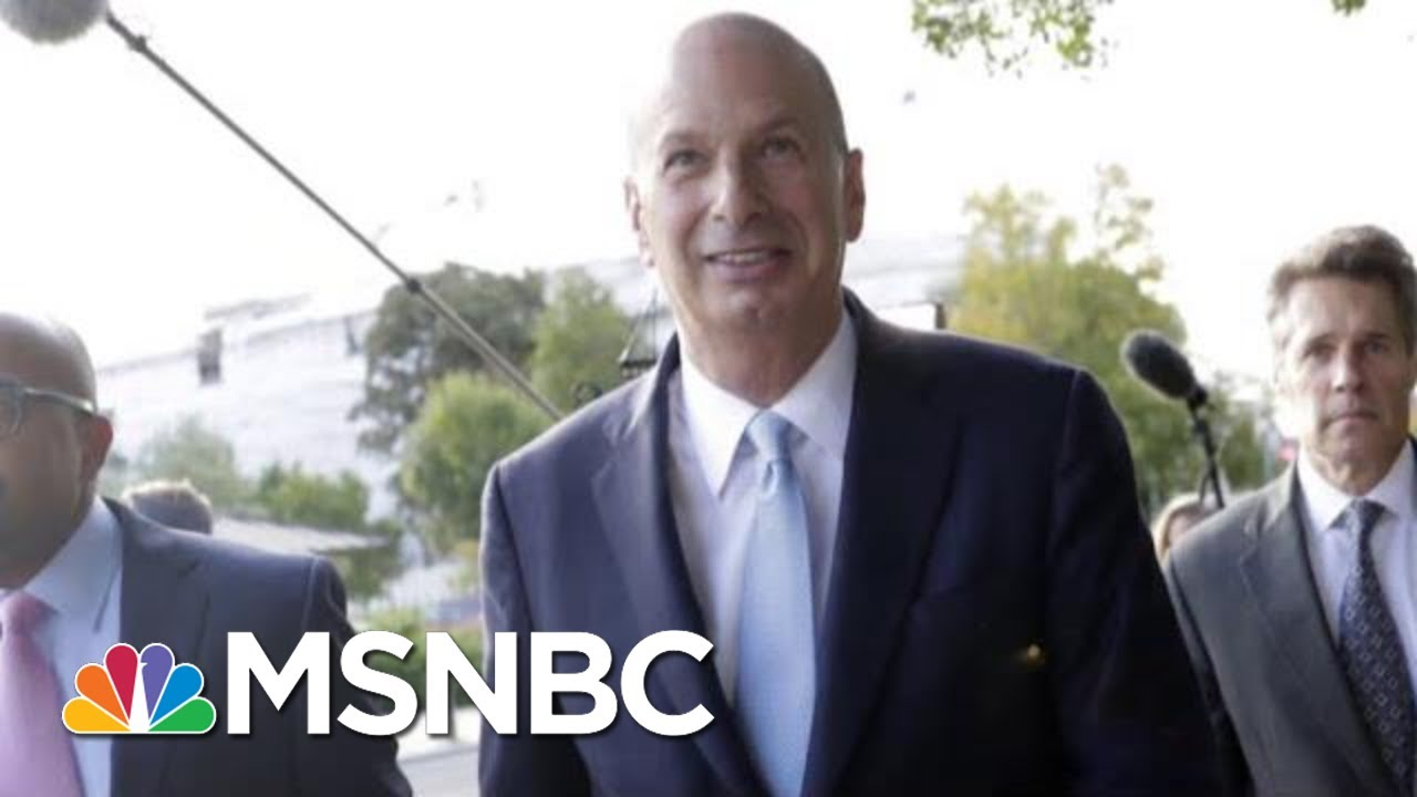 'I Barely Knew The Guy': President Donald Trump Brings Back Familiar Refrain | Deadline | MSNBC 4