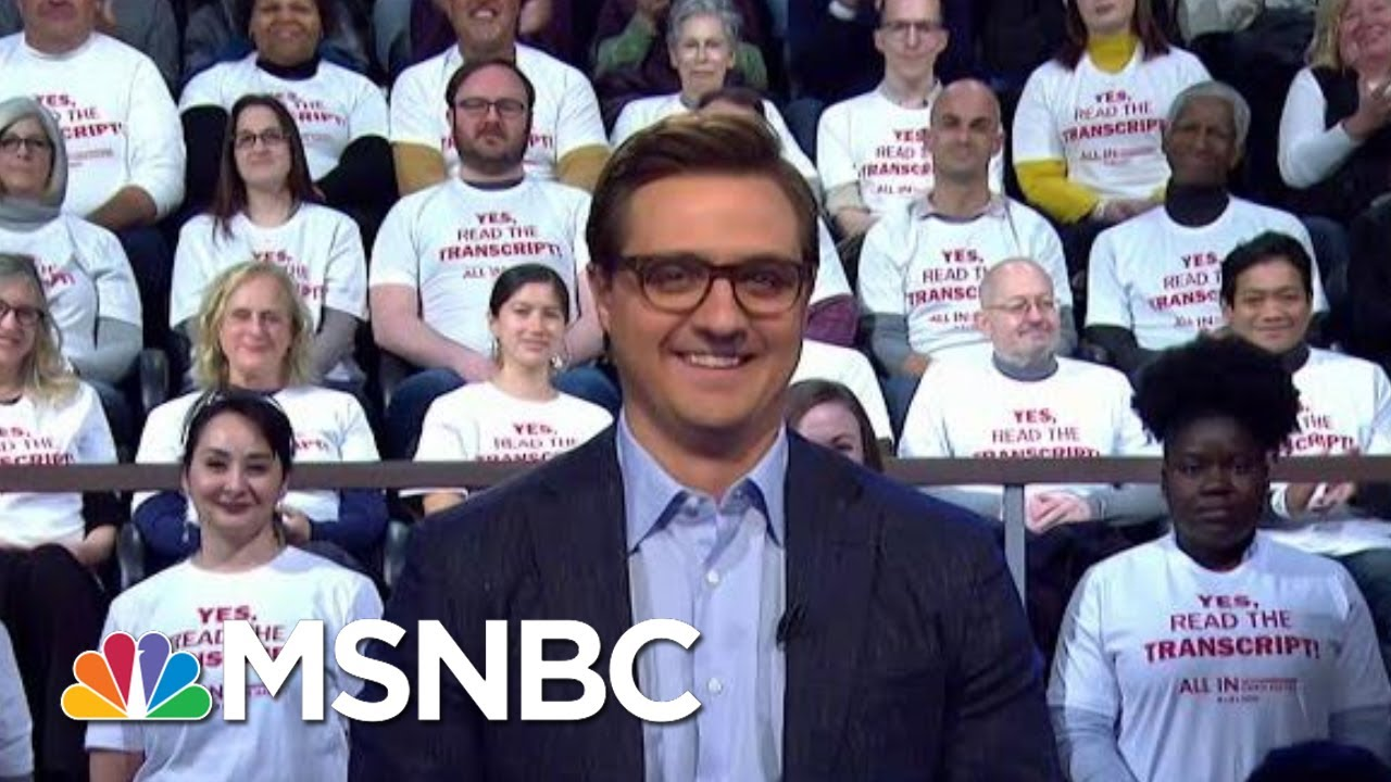 Chris Hayes: Yes, Read The Transcript! | All In | MSNBC 8