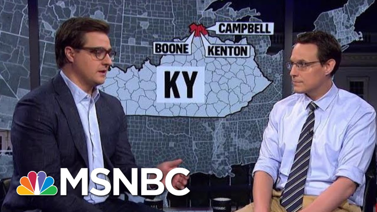 What The Suburban Shift Means For 2020 | All In | MSNBC 5
