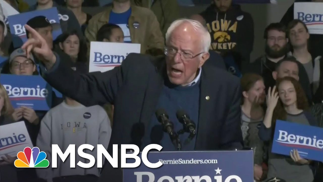 Sanders To Bloomberg: 'You Ain't Gonna Buy This Election' | MSNBC 5