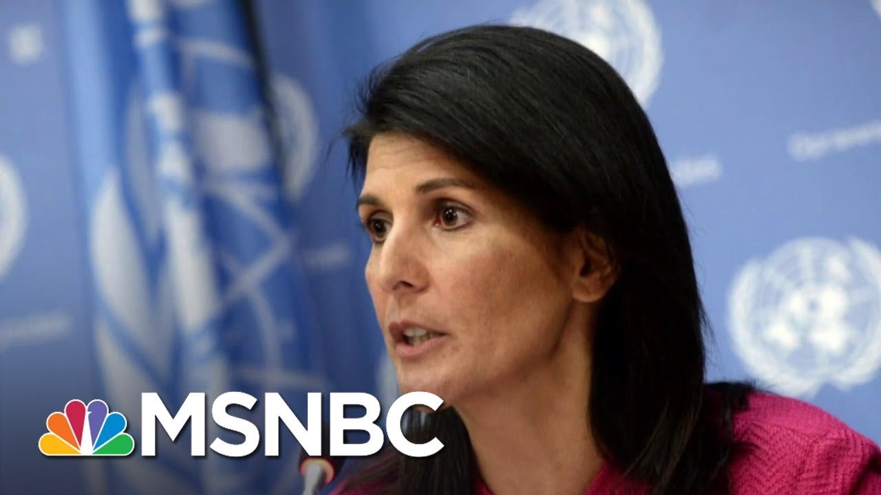 Nikki Haley Claims Cabinet Members Tried To Recruit Her To 'Save The Country' By Undermining Trump 12