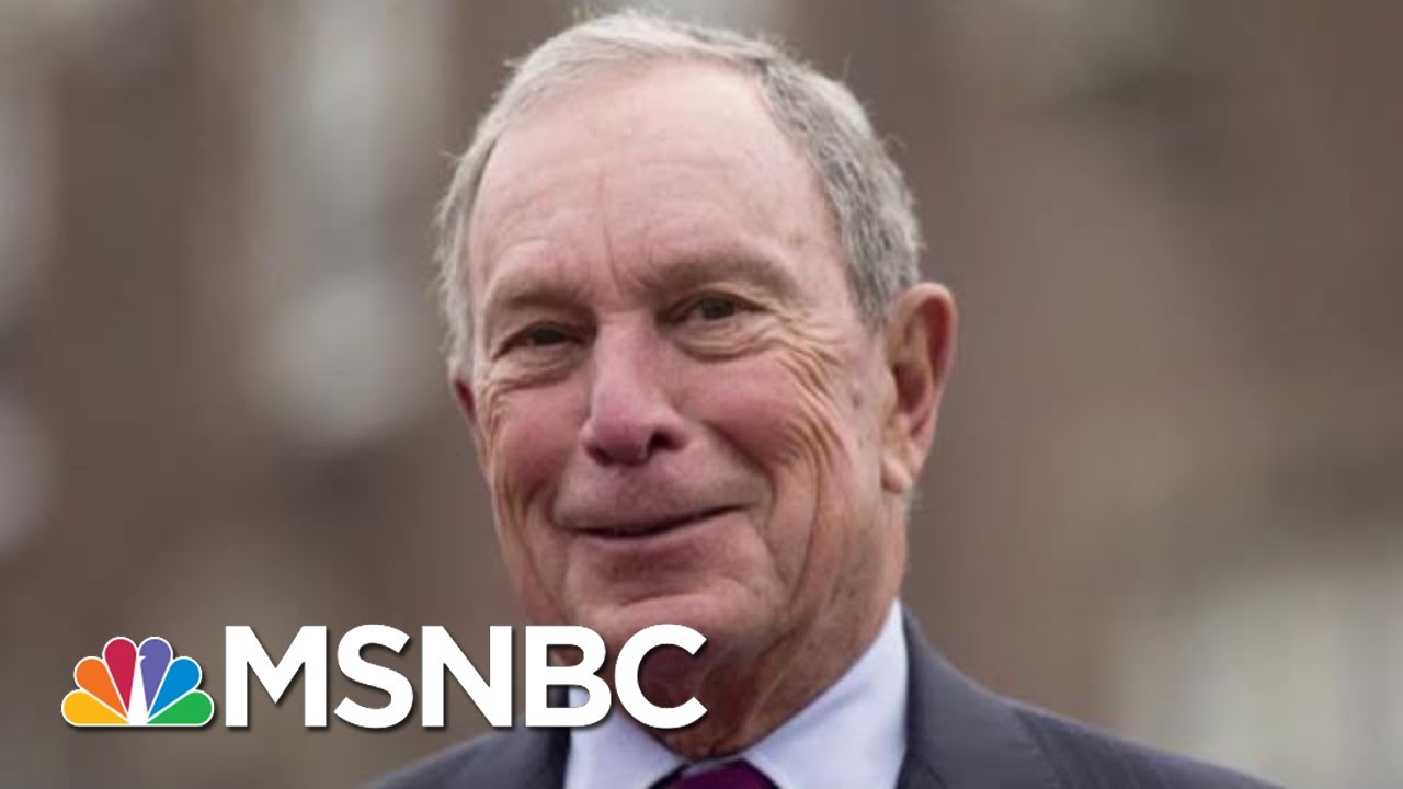 Michael Bloomberg Weighs Internal Polling Before Jumping Into Race | Morning Joe | MSNBC 3
