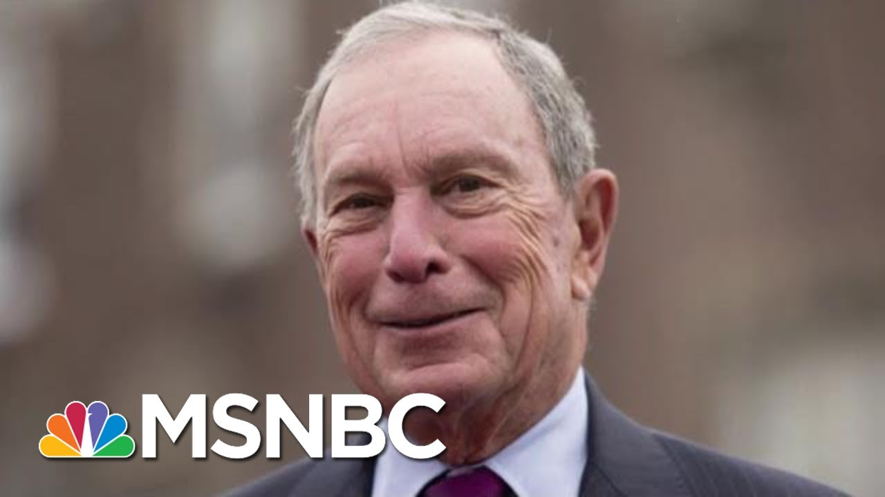 Michael Bloomberg Would Skip Early States In 2020 Bid | Velshi & Ruhle | MSNBC 8