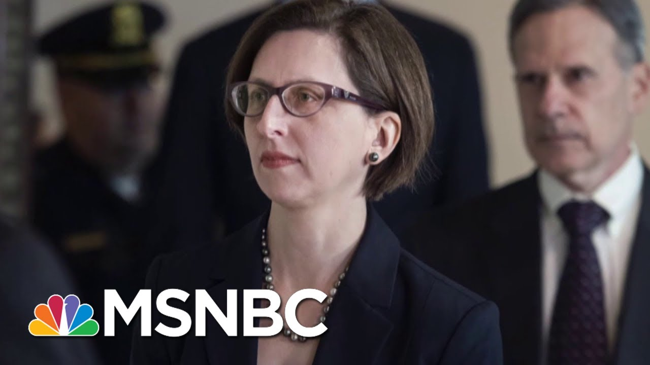 NEW: Transcript Of Laura Cooper Deposition Released | Deadline | MSNBC 6