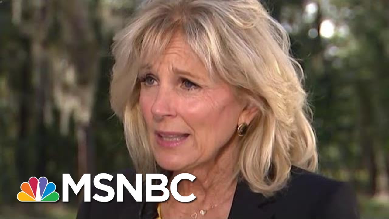 Jill Biden To President Donald Trump: 'Stop It. My Husband Is Going To Beat You' | Katy Tur | MSNBC 5