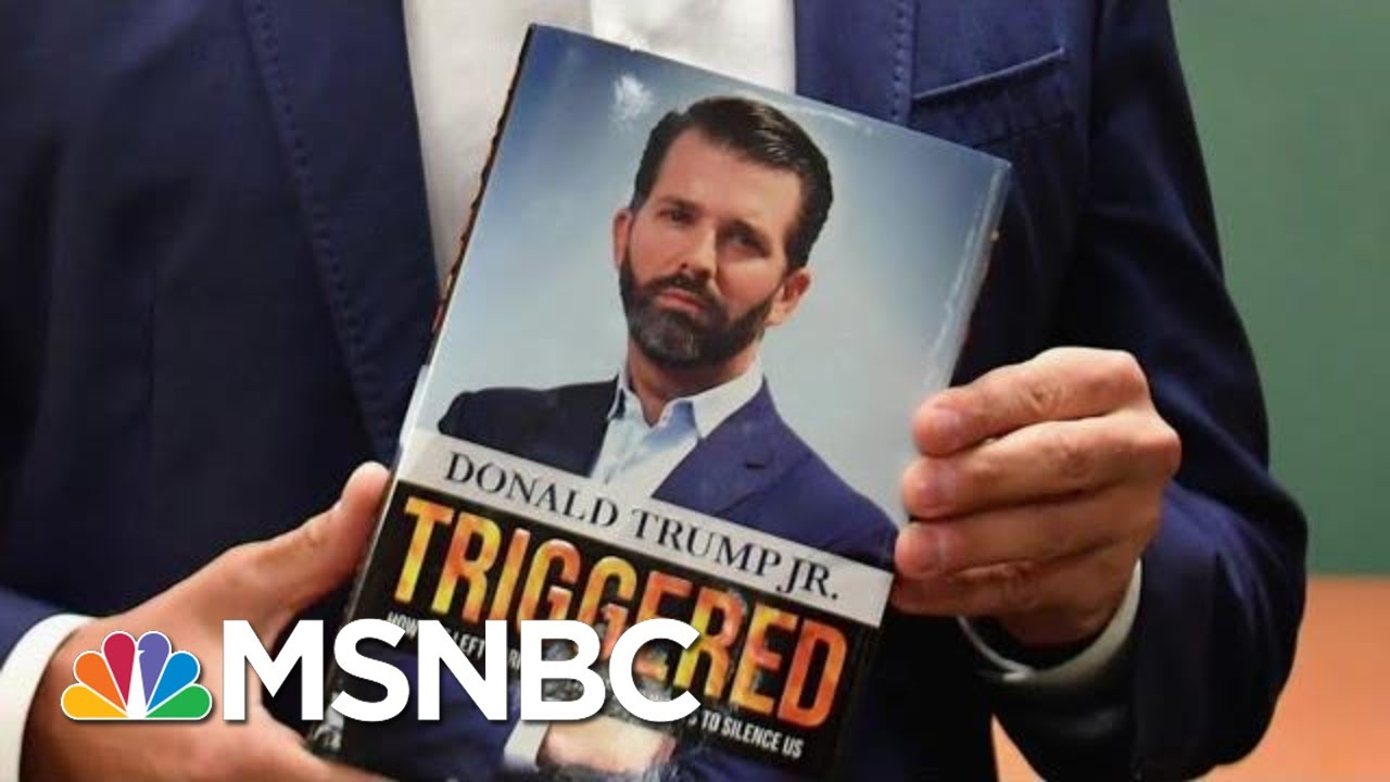 Trump Jr., Author Of 'Triggered,' Gets Booed Off Stage | All In | MSNBC 1
