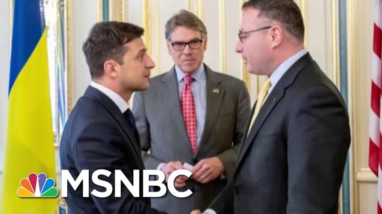 Trump Administration Models Corruption Even As It Scolds Ukraine | Rachel Maddow | MSNBC 4