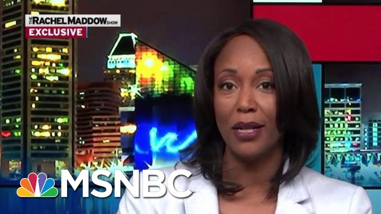 Maya Rockeymoore Cummings To Run For Her Husband's Seat   Rachel Maddow   MSNBC 3