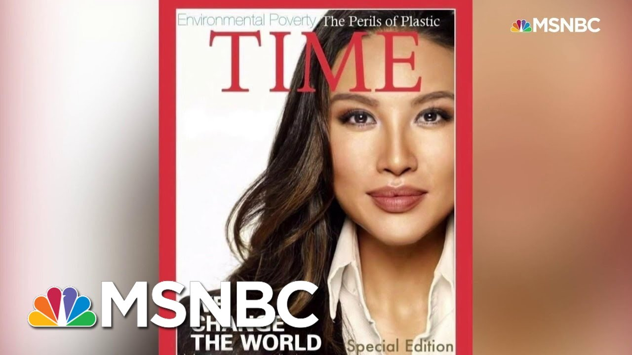 State Department Staffer Used Embellished Resume, Fake Time Magazine Cover | Andrea Mitchell | MSNBC 3