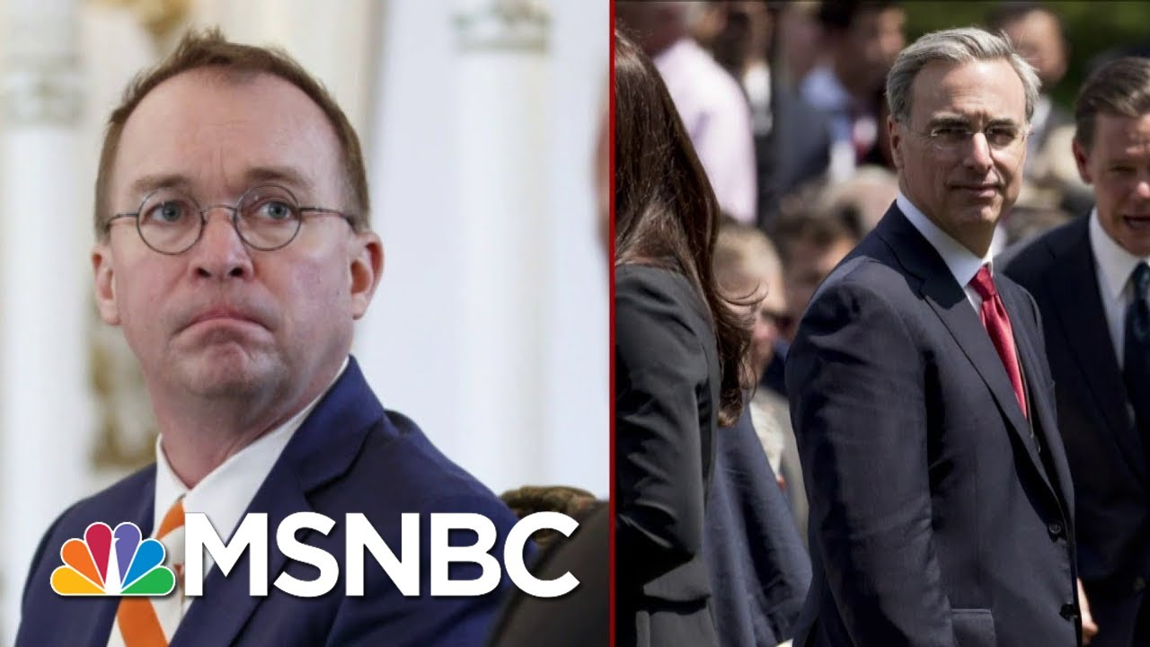 White House Infighting Ahead Of Public Testimony | Deadline | MSNBC 3