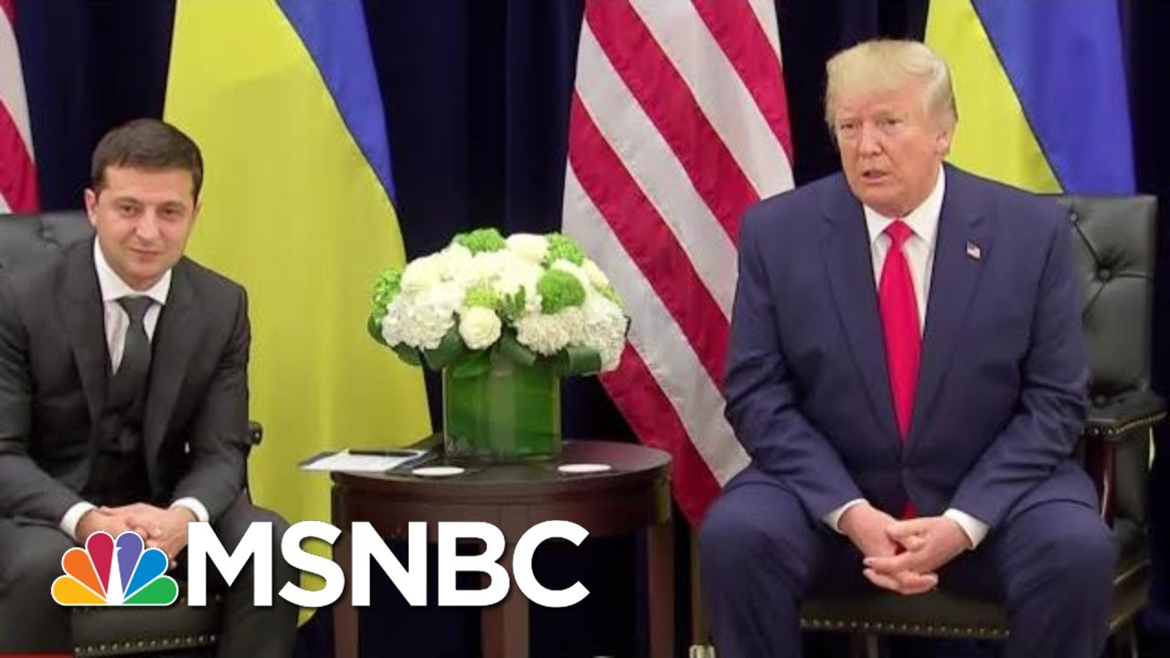 House Democrats Hone In On Bribery As Possible Impeachment Charge | The Last Word | MSNBC 7