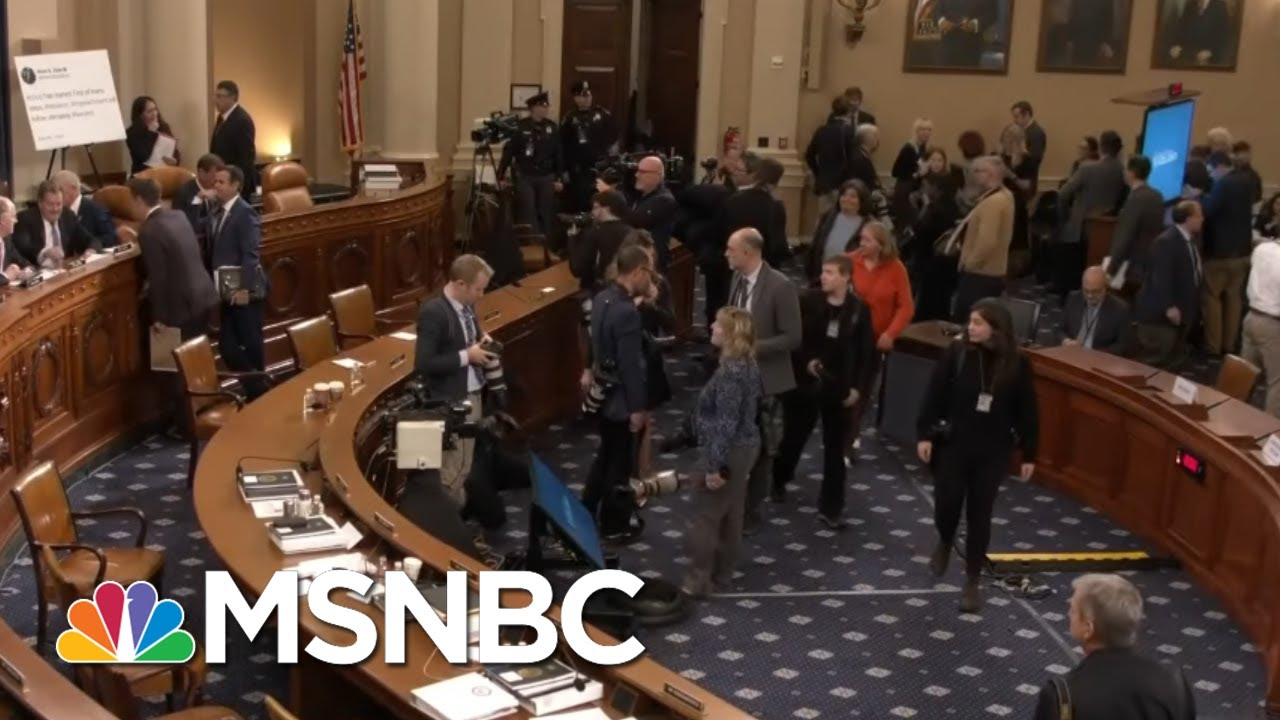 McCaskill: 'Shut Up About The Hearsay If You're Blocking All The Witnesses' | MSNBC 7