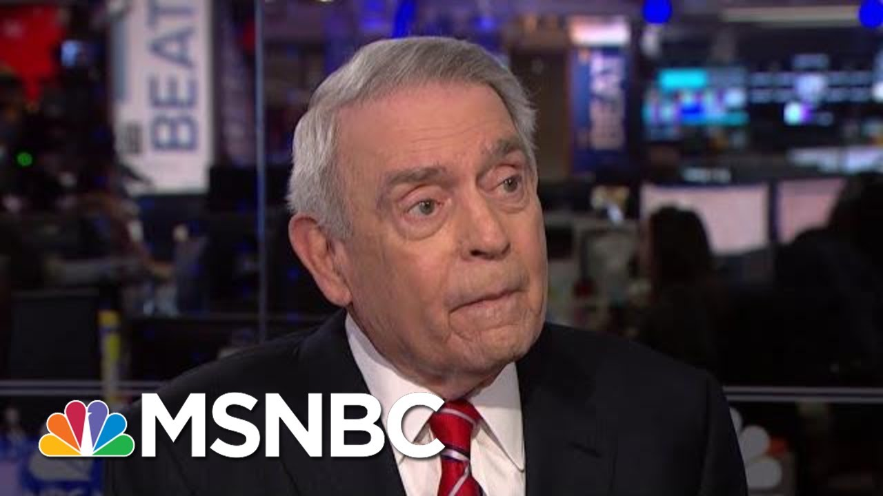 'History Is Watching': Dan Rather On Stakes Of Trump Impeachment | The Beat With Ari Melber | MSNBC 2