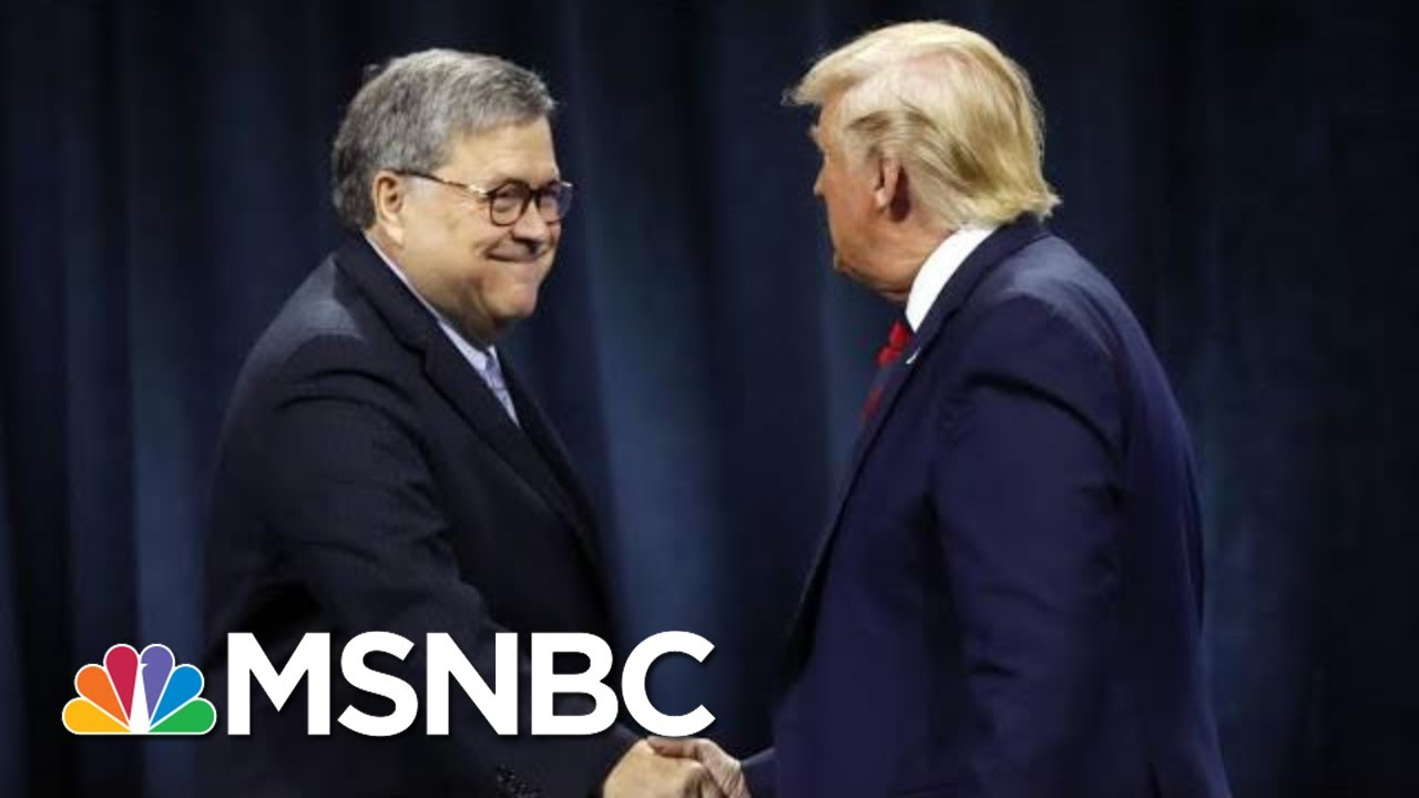 After Day One Of Impeachment Hearing, Is Barr Distancing Himself From Trump? | The 11th Hour | MSNBC 12