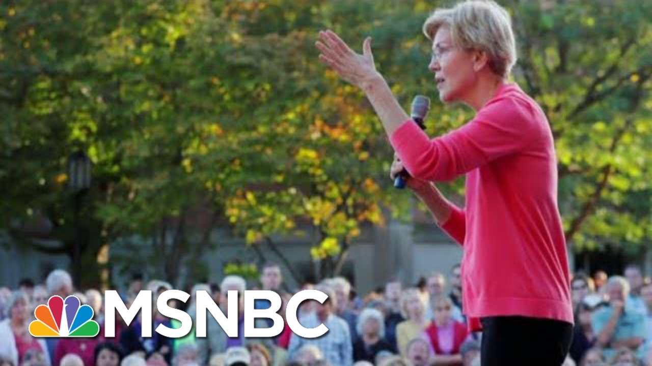 Elizabeth Warren Blasts Billionaires In New Ad | Velshi & Ruhle | MSNBC 9