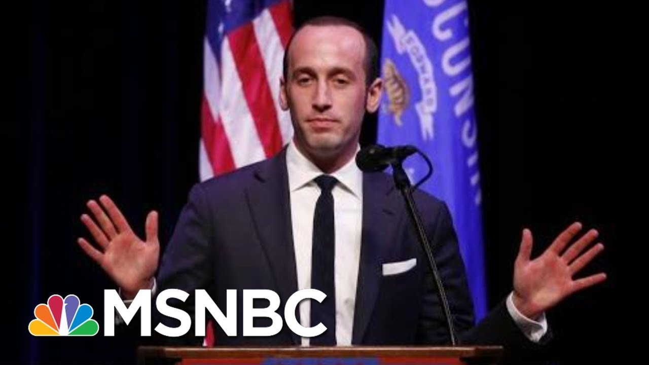 Emails Show Stephen Miller Promoted White Supremacist Content | The Last Word | MSNBC 6