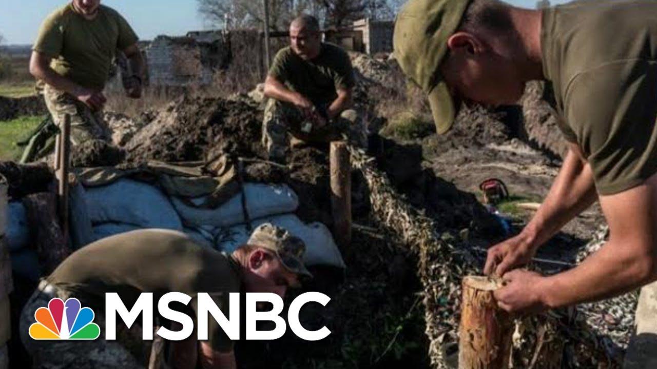Amid Trump Impeachment, Ukraine Struggles To Fight Back Russian Aggression   The 11th Hour   MSNBC 5