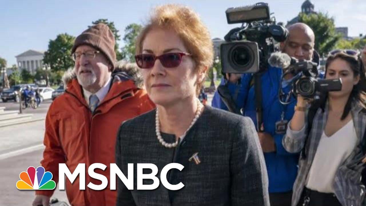 Ousted Ukraine Ambassador Set To Testify Friday | Morning Joe | MSNBC 7