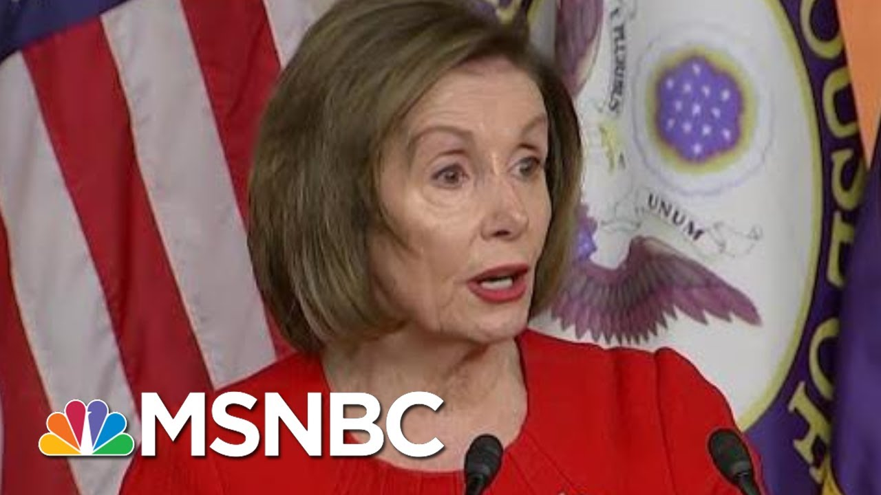 Nancy Pelosi Breaks Things Down For Everyone | Morning Joe | MSNBC 7