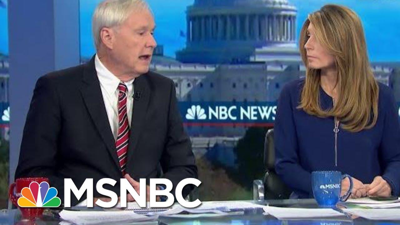 Wallace: This Was 'Real-Time Witness Tampering And Intimidation' By The President | MSNBC 6
