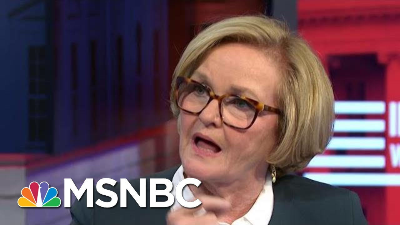 Sen. McCaskill: I Am So Proud Of This Woman And What She Has Given | MSNBC 7