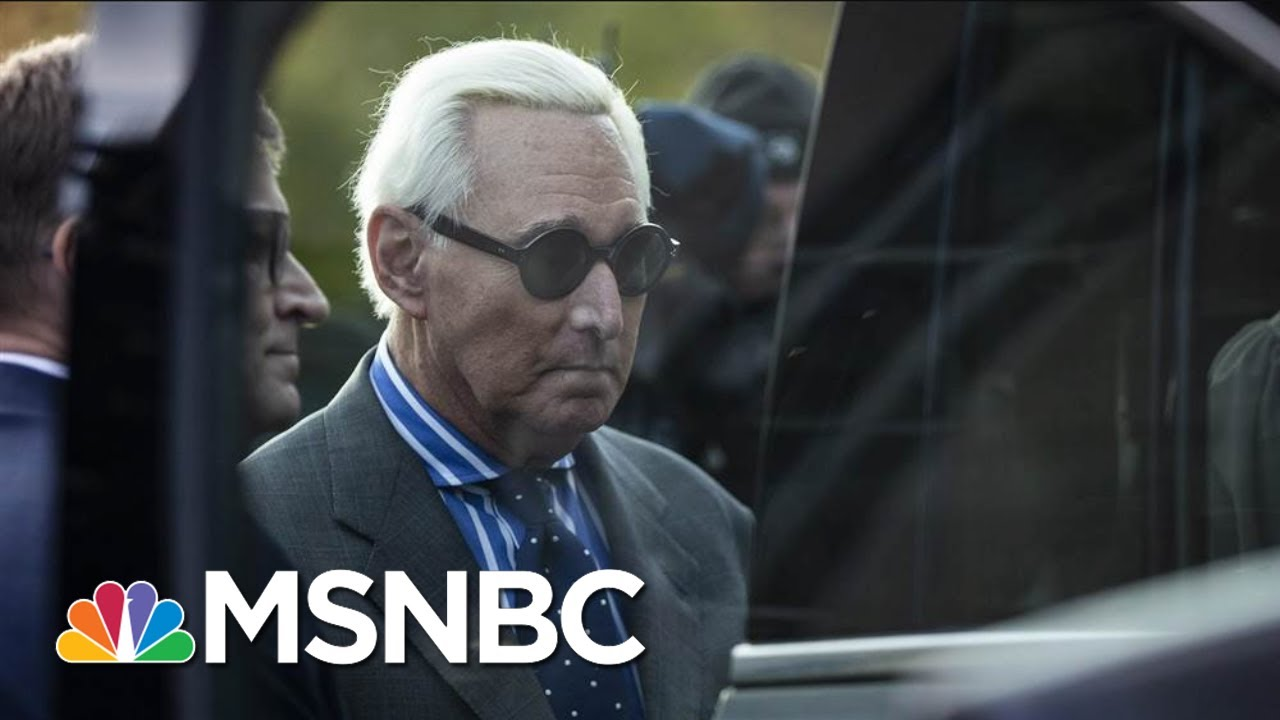 Trump Ally Roger Stone Found Guilty On All Counts | MSNBC 1