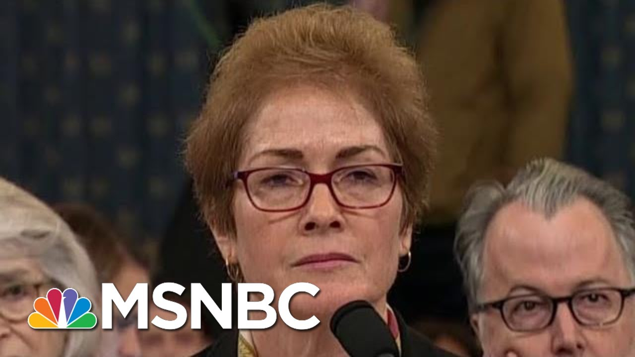 'Injurious': Trump Attacks Impeachment Witness During Testimony | The Beat With Ari Melber | MSNBC 2