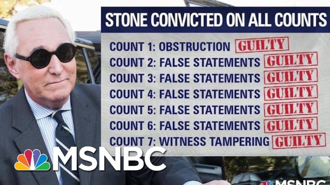 Roger Stone's Conviction A Warning For Gordon Sondland | The Last Word | MSNBC 8