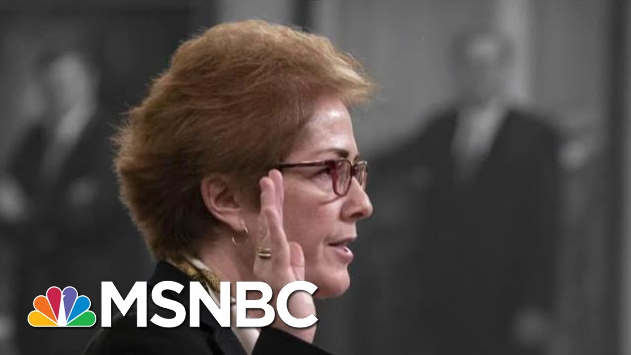 New Details Emerge After Marathon Impeachment Testimony | The 11th Hour | MSNBC 9