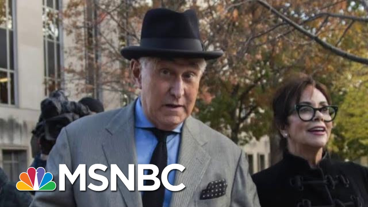 Longtime President Donald Trump Adviser Roger Stone Convicted   The 11th Hour   MSNBC 6