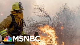 Climate Warning: California Continues To Burn, Data Estimates Of Global Flooding | MTP Daily | MSNBC 4