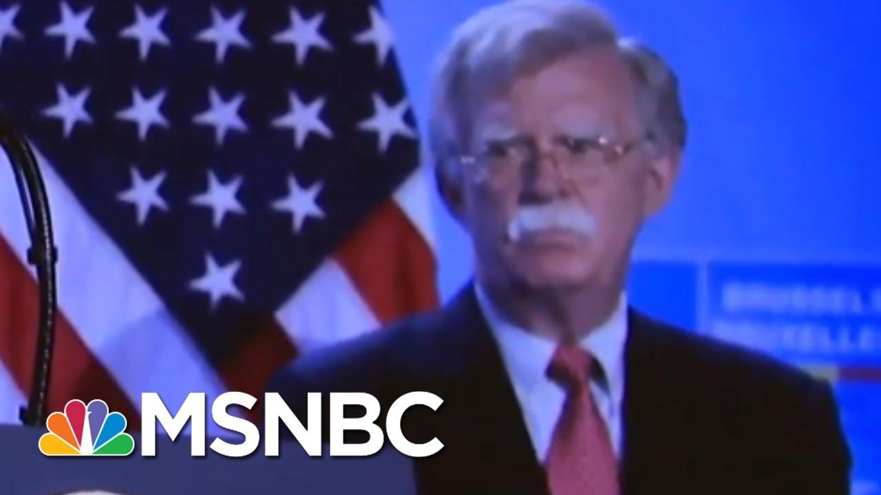 Bolton's Valiant Effort To Get Trump To Release Military Aid For Ukraine   Deadline   MSNBC 1