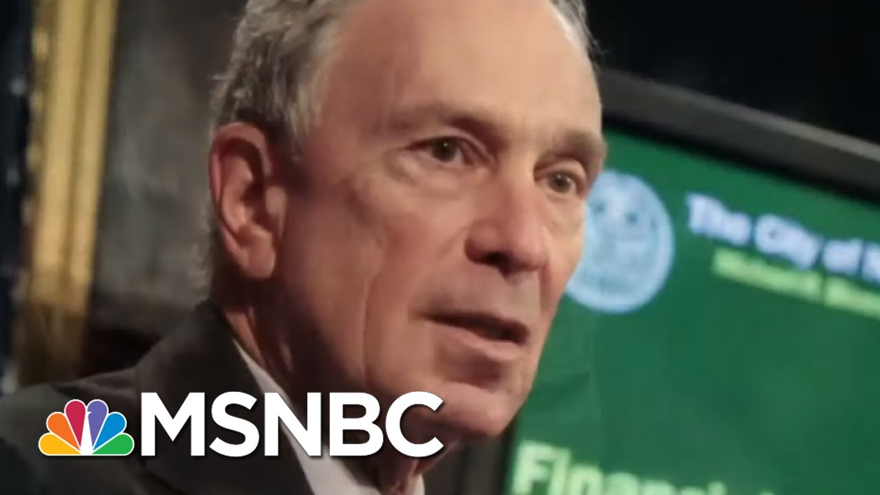 Ari Melber: Bloomberg Runs From Stop-And-Frisk After Profiling Millions | MSNBC 2