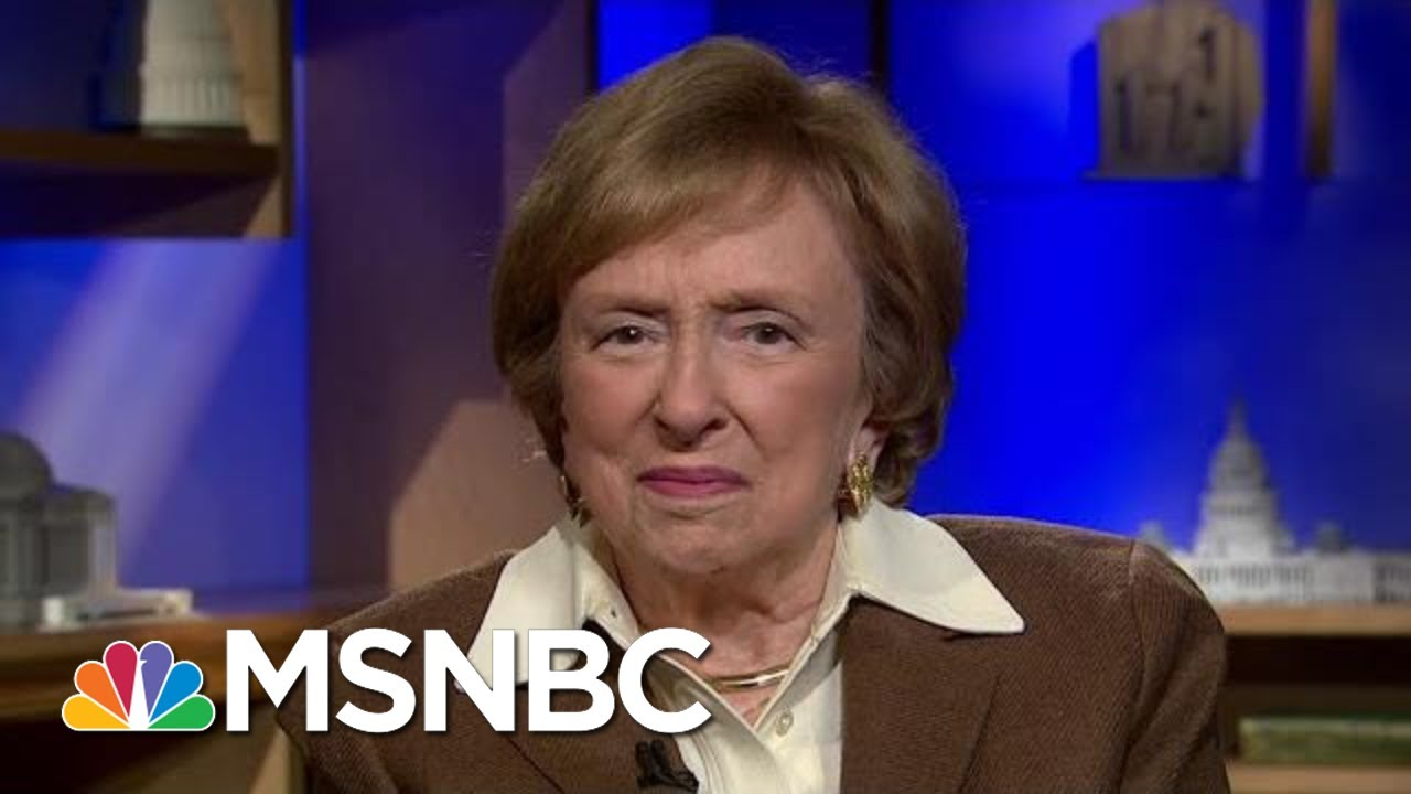 Elizabeth Drew On The 'Honest People Trump Cannot Fathom' | The Last Word | MSNBC 5
