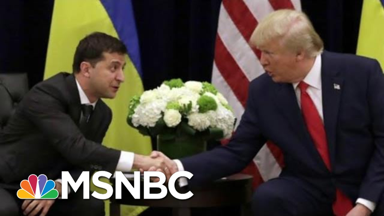 Ukraine Sought US Diplomats' Advice On Trump Pressure Tactics: AP   Rachel Maddow   MSNBC 6