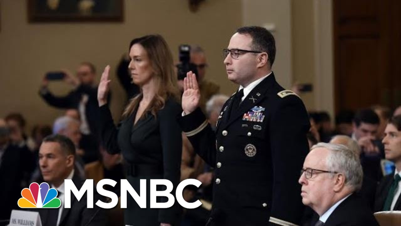 Nicolle: Two Public Servants Speak Truth To Power In Face Of Public Criticism From Trump | MSNBC 2