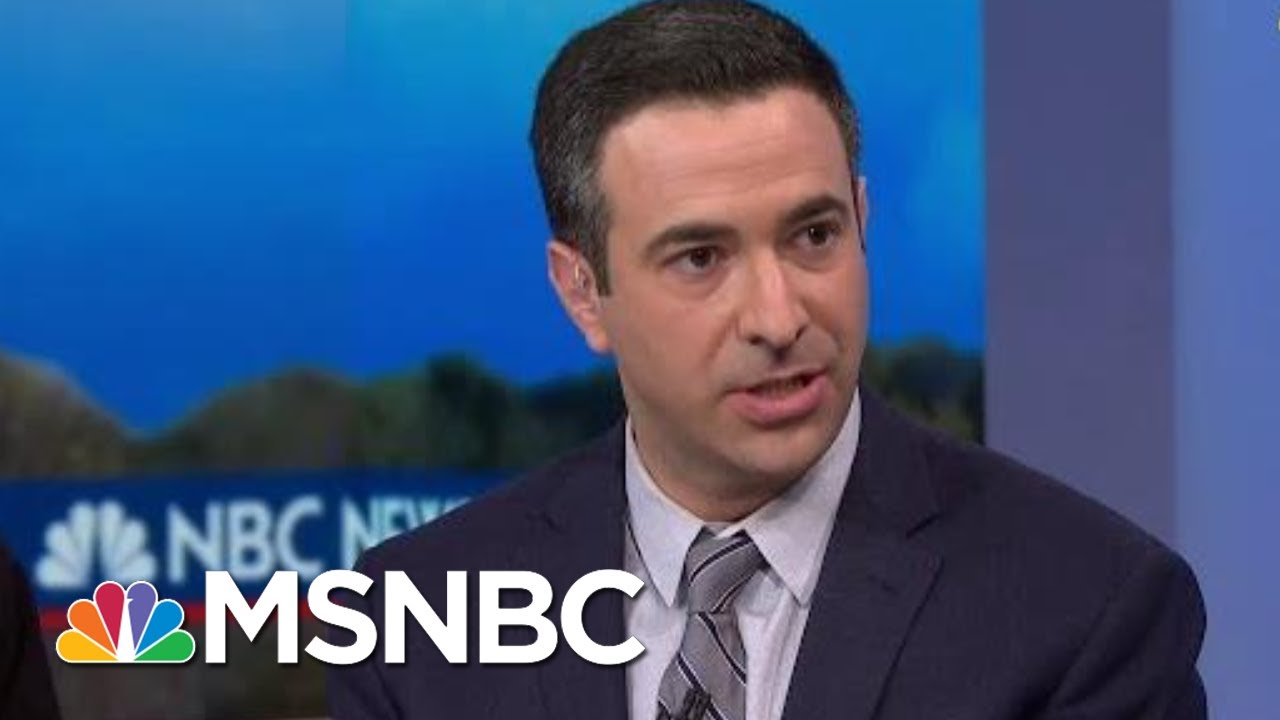 Melber: You Don't Change Your Statement To Help Trump, You Do It To help Yourself | MSNBC 10