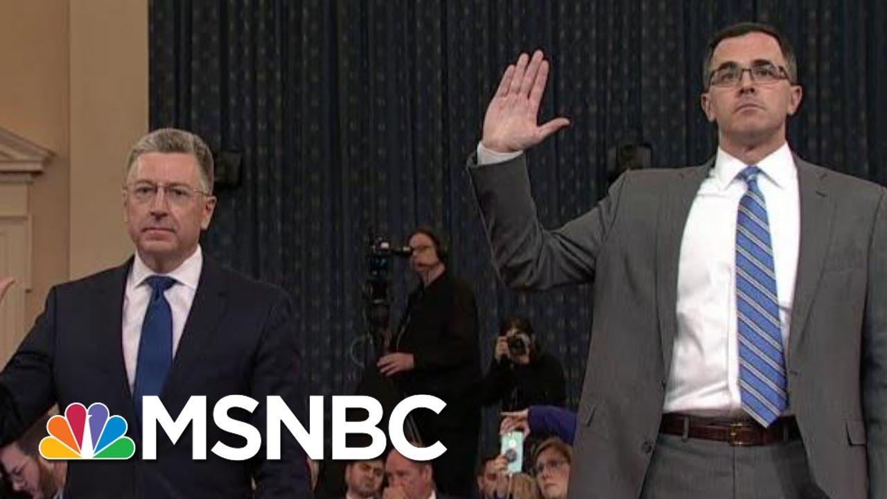 Republican Defenses Break Down During Impeachment Hearings | The Last Word | MSNBC 4