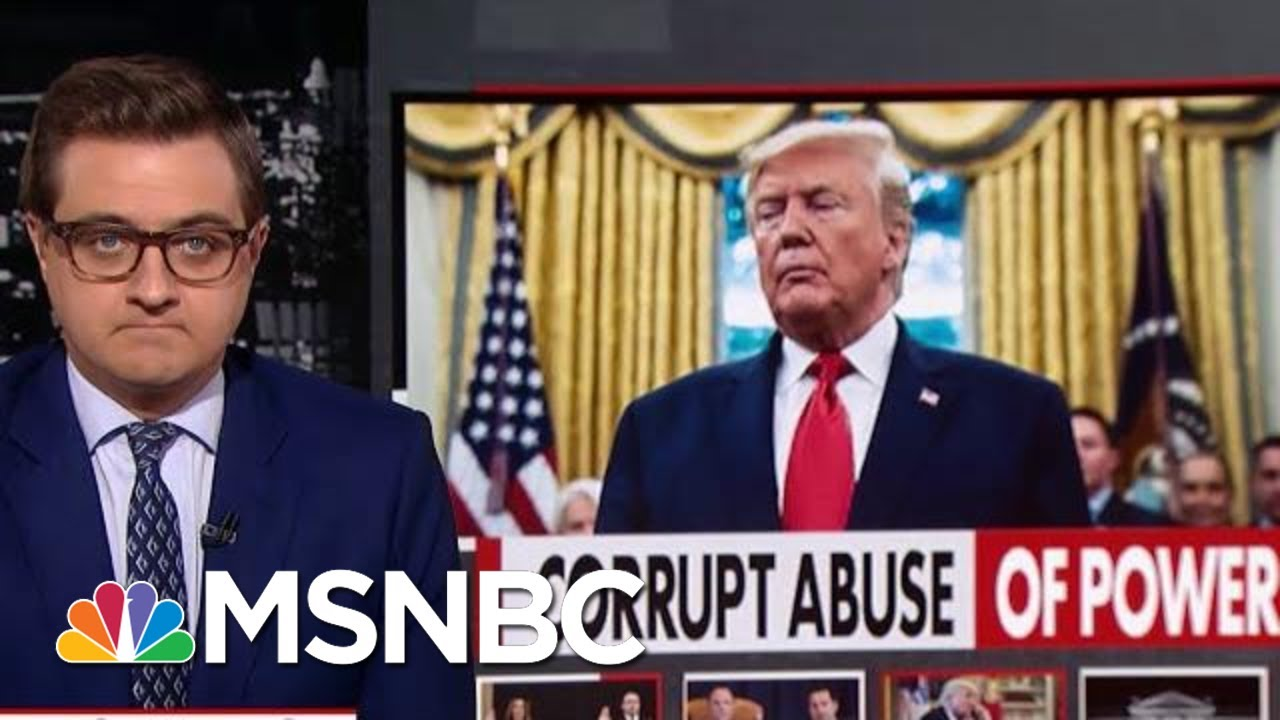 Chris Hayes On The Highlights Of Tuesday's Impeachment Hearings | All In | MSNBC 3