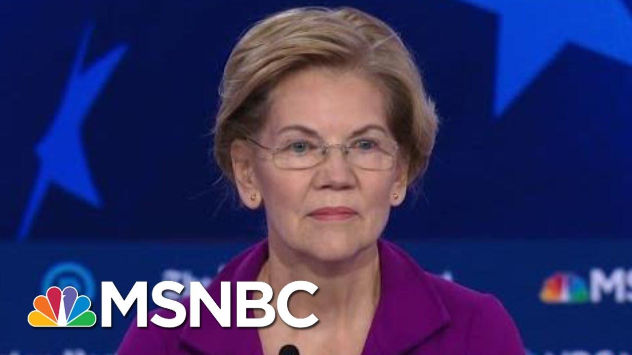 Warren, Klobuchar On Impeachment Support | MSNBC 6